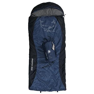 10T DOLPHIN 300 Sac de couchage enfant Bleu 180 x 75 cm