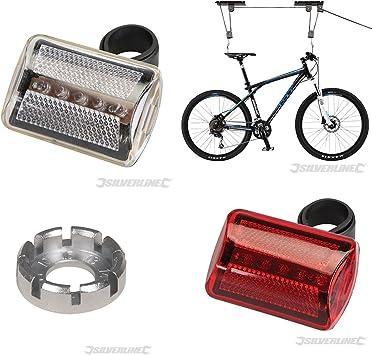 Soporte colgador bicicleta soporte bicicleta, bombillas de ...
