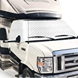 PAUTO-P RV Windshield Cover for Class C Ford 1997-2020,RV Windshield Window Snow Cover, Motorhome Windshield Cover for…