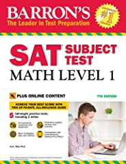 Barron's SAT Subject Test: Math Level 1, 7th Edition: With Bonus Online Tests