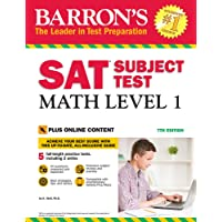 Barron's SAT Subject Test: Math Level 1 with Online Tests