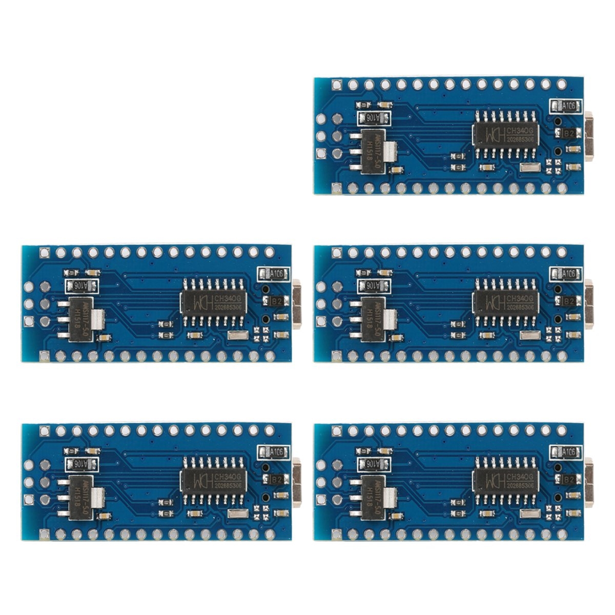 5x V3.0 USB Nano ATmega328P 5V 16M Micro controller Board Module Arduino TE359 by XCSOURCE