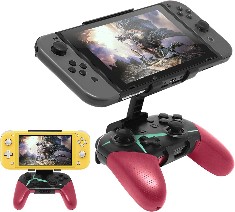 Compatible con Nintendo Switch Pro Controller Mount Clip, soporte ...