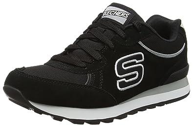 Skechers Retros OG 82 Classic Kicks Womens Sneakers Black 6