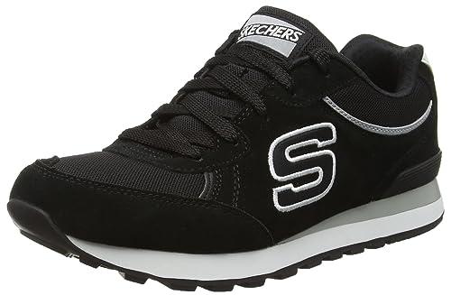 Skechers Originals OG 82 Classic Kicks Zapatillas, Mujer, Negro (Black), 41