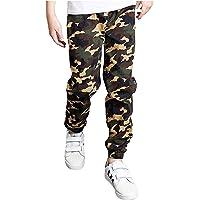 MSemis Pantalones de Chandal Niño Pantalones Deportivos Jogging Algodón Leggings Largos Elástico Cintura Otoño Invierno…