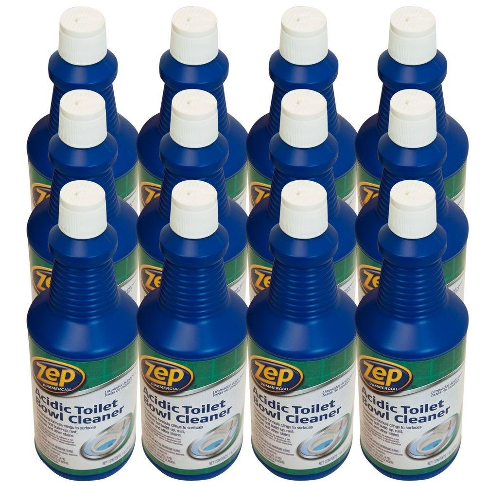 Zep Acidic Toilet Bowl Cleaner 32 Ounce ZUATB32 (Case of 12) by Zep