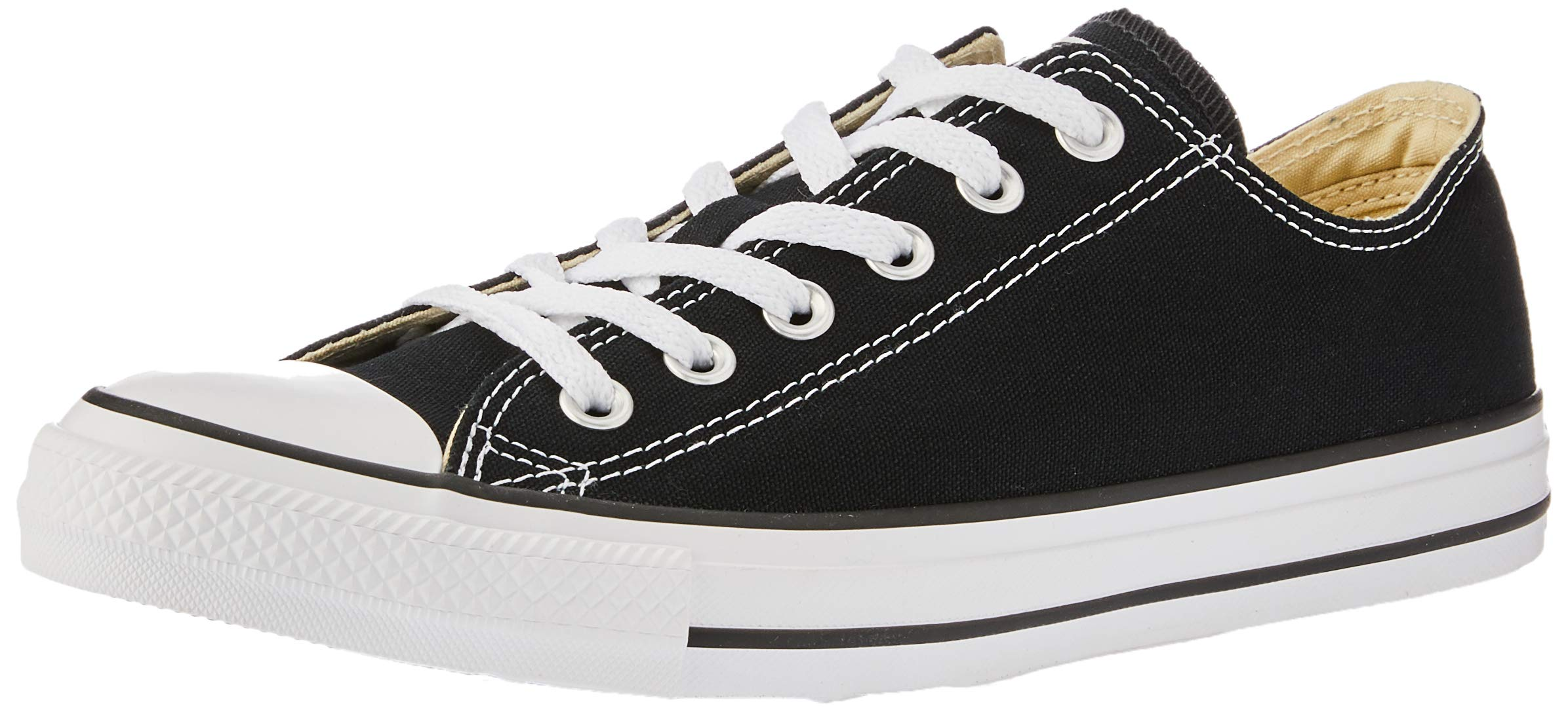 Converse Unisex Chuck Taylor All Star Low Top Sneakers, Black, 6 D(M) US