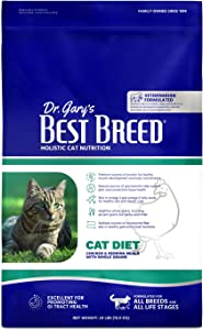 Best Breed Cat Diet Made in USA [Natural Dry Cat Food For All Ages]