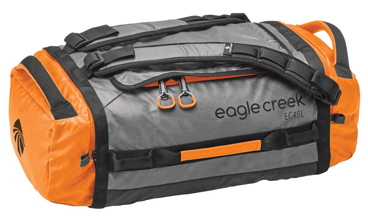 Wasserabweisender Backpacker Cargo Hauler Duffel ultraleichte Reisetasche mit Rucksackträgern, 45 L