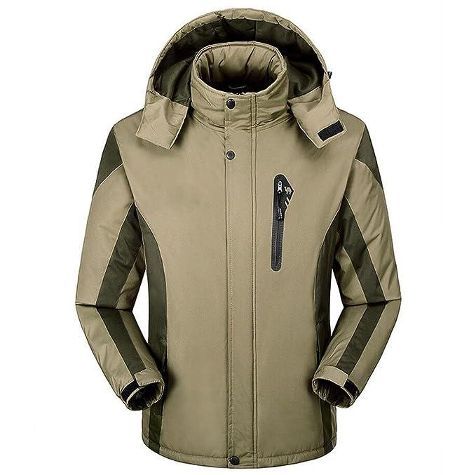 Giacca Da Uomo Caldo Autunno E Inverno Più Velluto Cappotto Spessore  Impermeabile Antivento Abiti Da Montagna Abbigliamento Andes c1ce2dc6b5e