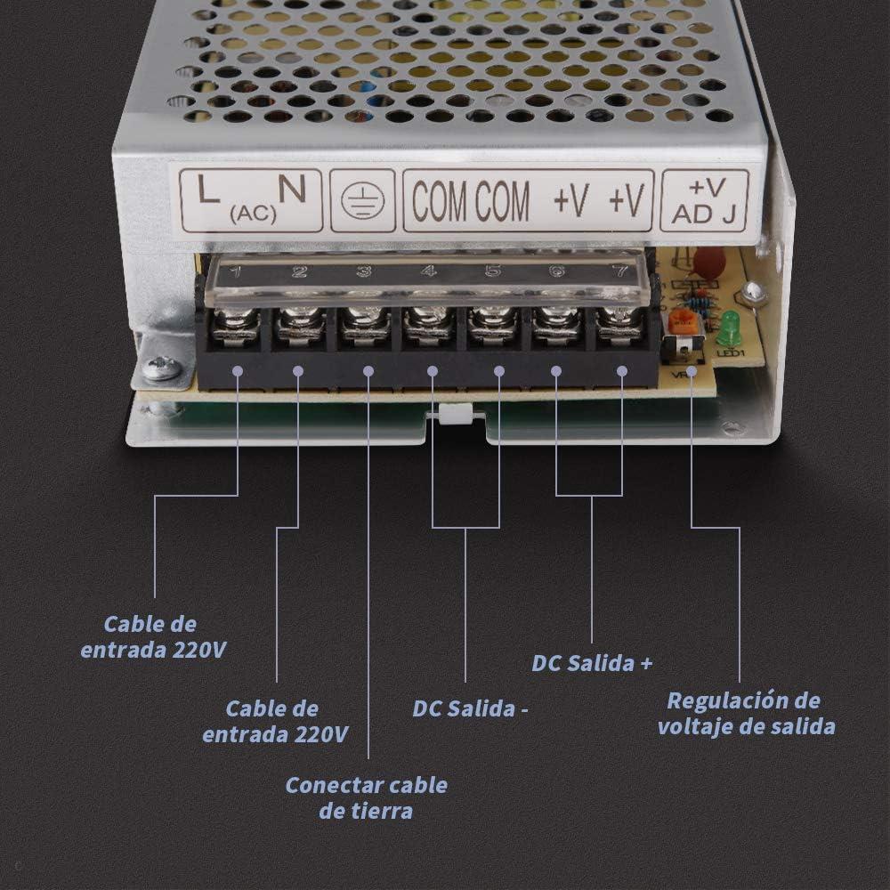 GHB 12V 15A 180W Transformador de Potencia, Transformador de ...