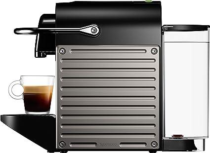 Nespresso XN304T Pixie Titán EU, 1260 W, 2 Cups, Acero Inoxidable, Gris Titanio: Amazon.es: Hogar