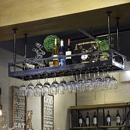 Xufei Bar Hang Wine Rack Wine Glass Holder European Household Red