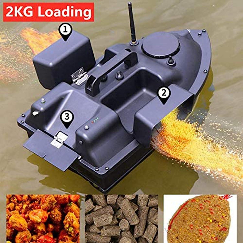 FDYD RC Fischk/öder Boot 500m Entfernung GPS Postion Auto Cruise Fernbedienung Fischk/öder-Boot mit DREI Storage Control ablel Nesting