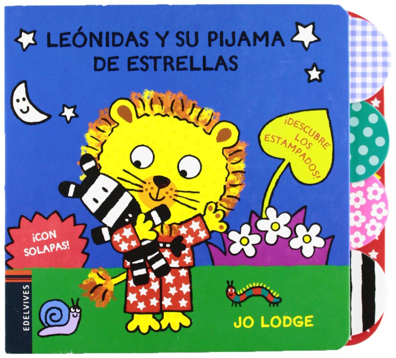 Leónidas y su pijama de estrellas / Little Roars Starry Pyjamas (Spanish Edition): Jo Lodge: 9788426385789: Amazon.com: Books