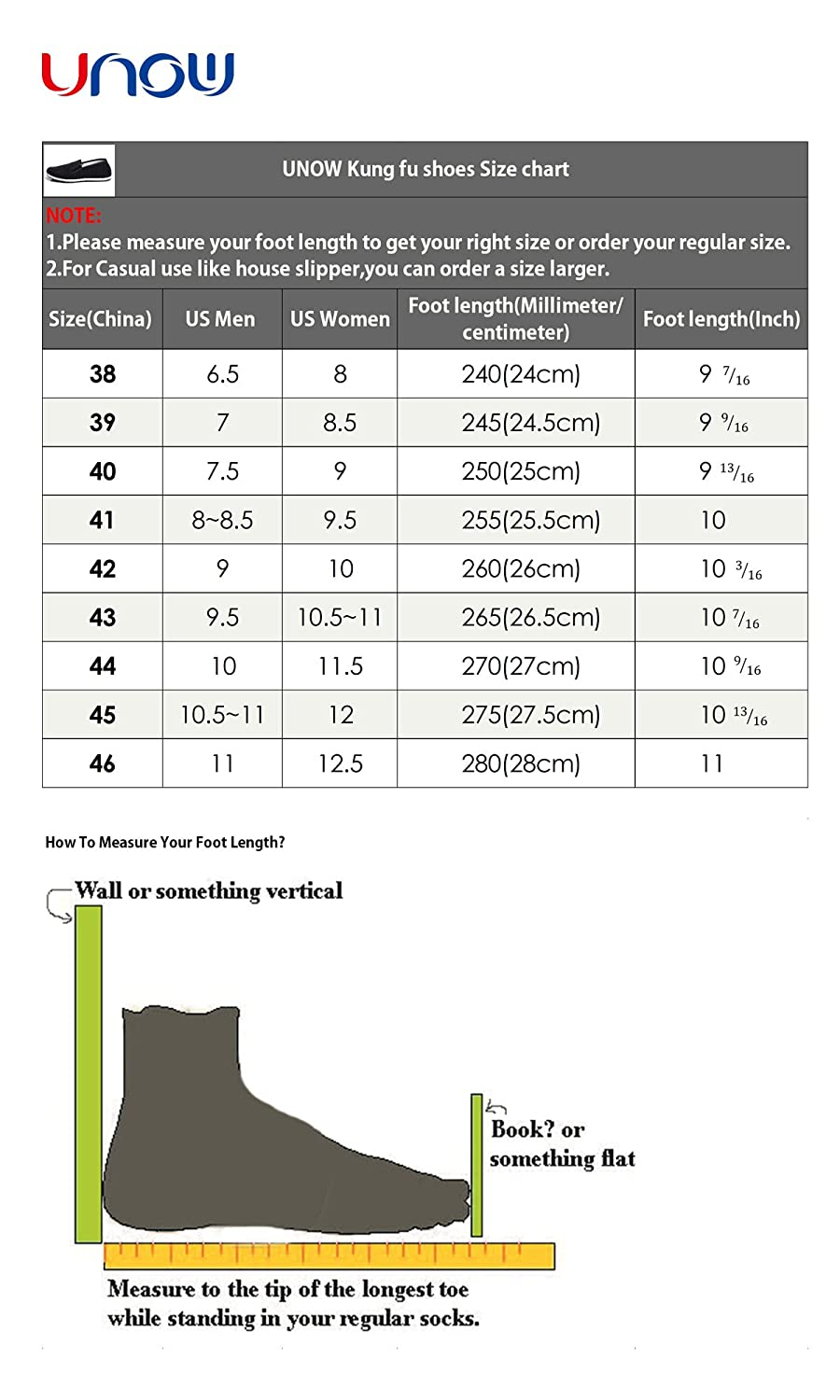 Chinese shoe size chart shoes for yourstyles size chart com unow chinese traditional cloth kung fu shoes black geenschuldenfo Images