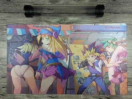 Gagaga Gril YuGiOh Duel Battlefield Trading Card Game Playmat Mat Free Best Tube