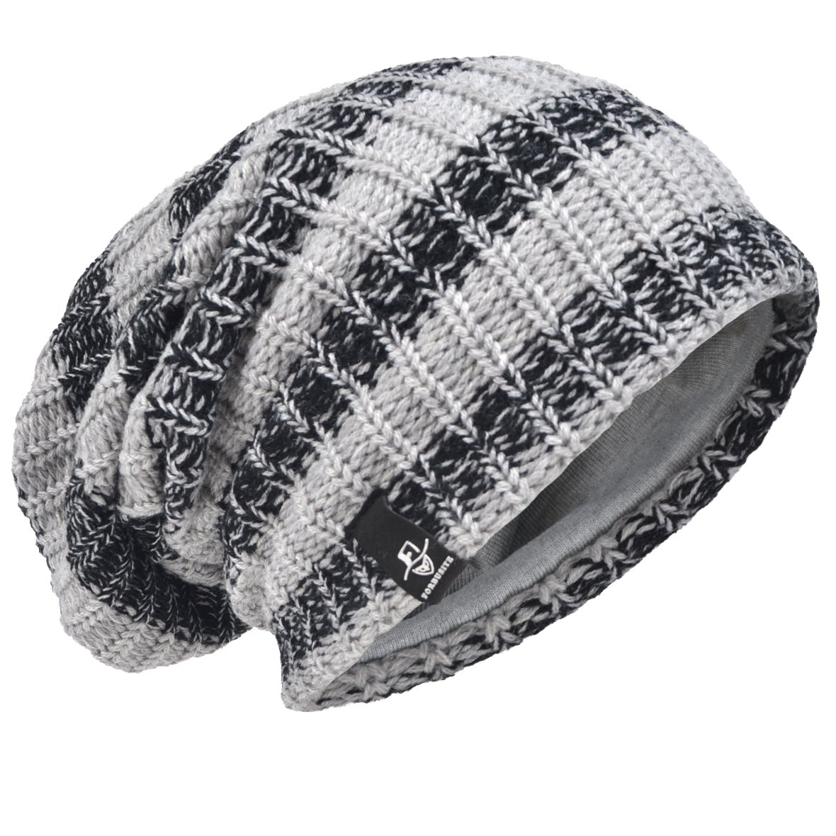 315d1faae11 VECRY Mens Cool Cotton Beanie Slouch Skull Cap Long Baggy Hip-hop Winter  Summer Hat
