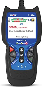 INNOVA 3130RS OBD2 Scanner/Car Code Reader with ABS, SRS, Live Data, Service Light Reset, and Network Scan