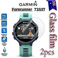 [2-Pack] Garmin Forerunner 735XT Tempred Glass LCD Screen Protector Film Guard for Garmin Forerunner 735XT Smart Watch
