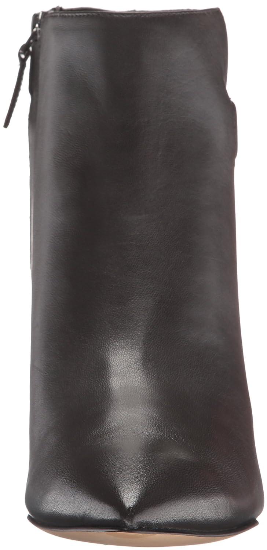 Nine West Women's Jaison Leather Ankle Bootie B01EXXIJG6 9.5 B(M) US Dark Grey