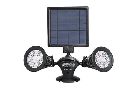 Lumisky DOLBY W31 Projecteur Double Spot Solaire 12 LED Extérieur