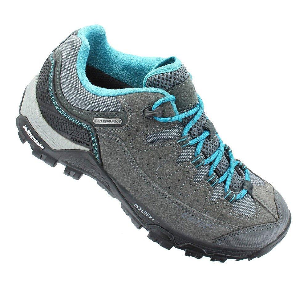 Hi-Tec Ox Belmont Low I Waterproof Women's Walking Shoes - SS18 B073MW746S 7 B(M) US Grey
