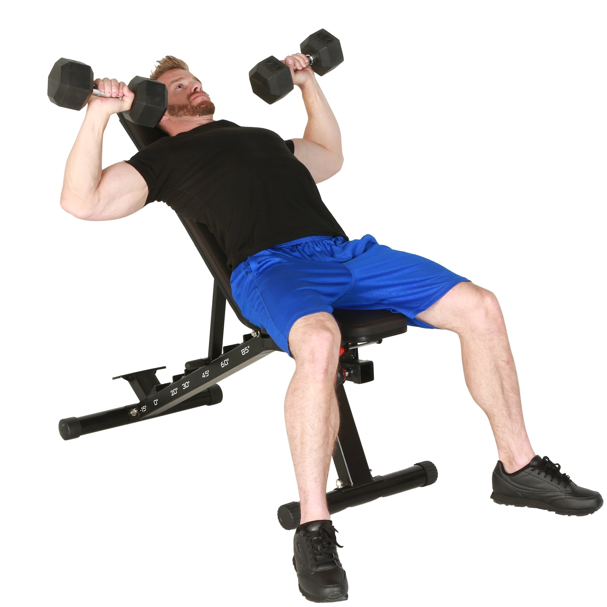 Fitness Reality 2000 Super Max XL High Capacity NO Gap Weight Bench with Detachable Leg Lock-Down by Fitness Reality (Image #5)