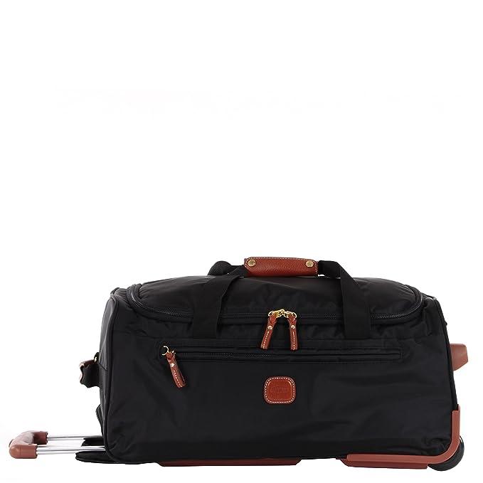 Brics Trolley para portátil, X-travel Borsone Ruote, negro - negro, BXL32510