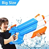 IngleJoy Water Gun Up to 10M Away High Capacity Squirt Guns for Kids Adult, Water Pistol for Swimming Pool Beach Sand Water Fighting Toy
