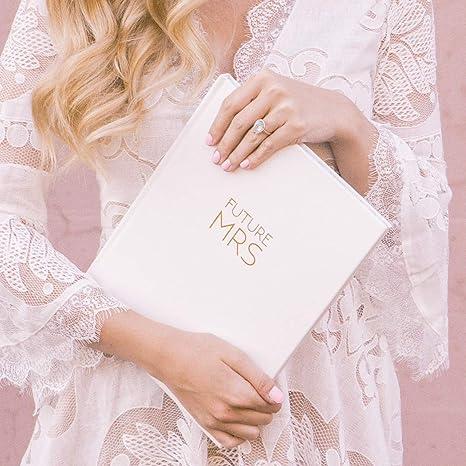 Organizador de diario de boda con tapa dura, juego de regalo ...
