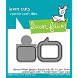 Lawn Fawn Lawn Cuts Custom Craft Die - LF1702 Reveal Wheel Speech Bubble
