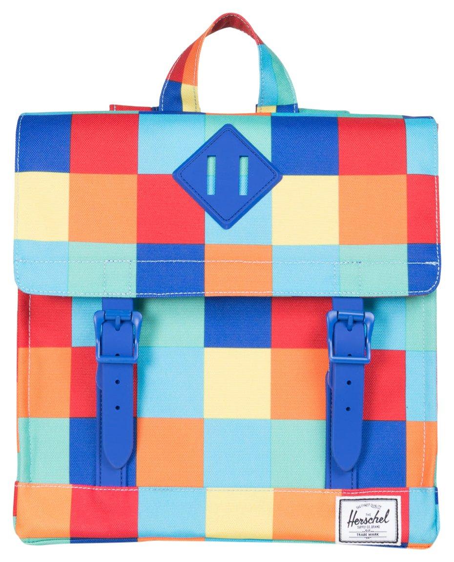 Herschel Supply Co. Survey Kids Backpack, Primary/Blue Rubber by Herschel Supply Co.