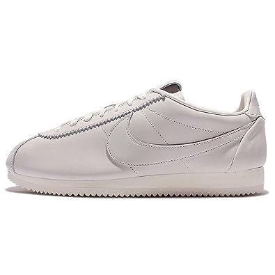 detailed look 6fde3 3d193 Nike Classic Cortez Premium QS TZ Size 9.5 10 11 Sail Natural Leather SP  Lab UK 10   EU 45 898088-100  Amazon.co.uk  Shoes   Bags