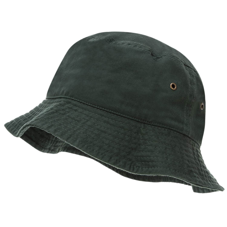 ed31f1ff83272e Bandana.com 100% Cotton Bucket Hat for Men, Women, Kids - Summer Cap  Fishing Hat at Amazon Women's Clothing store: