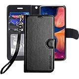 ERAGLOW Galaxy A20 Case,Galaxy A30 Case,Premium PU Leather Wallet Flip Protective Phone Case Cover w/Card Slots & Kickstand f