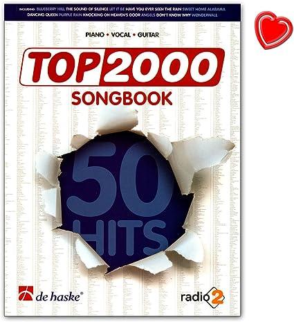 Top 2000 Songbook – 50 tophits en un libro para canto con ...