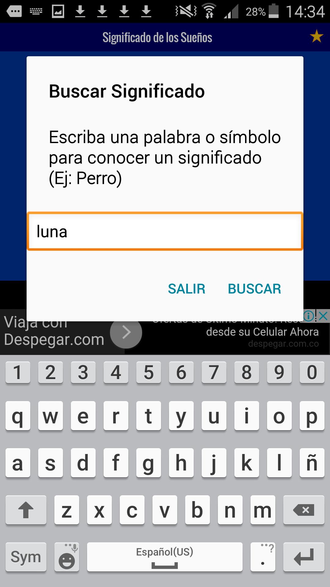 Significado de los Sueños (GRATIS): Amazon.es: Appstore