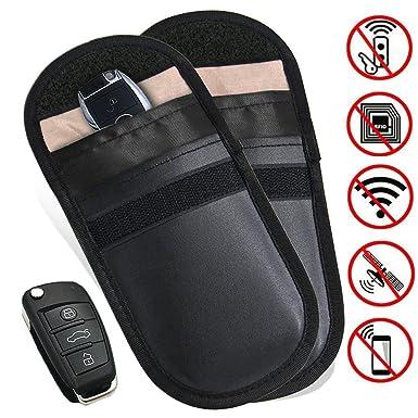 Car Key Signal Blocker Case,Phone Blocking Signal Pouch With