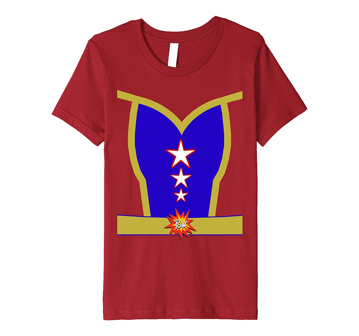 Female Superhero Halloween Costume Premium T-shirt