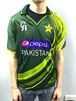 58da39edf6b Ca Official Pakistan International One Day Replica Cricket Shirt Large