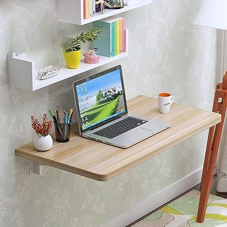 LTJTVFXQ-shelf Mesa de Comedor Plegable de Madera Plegable Mesa de ...