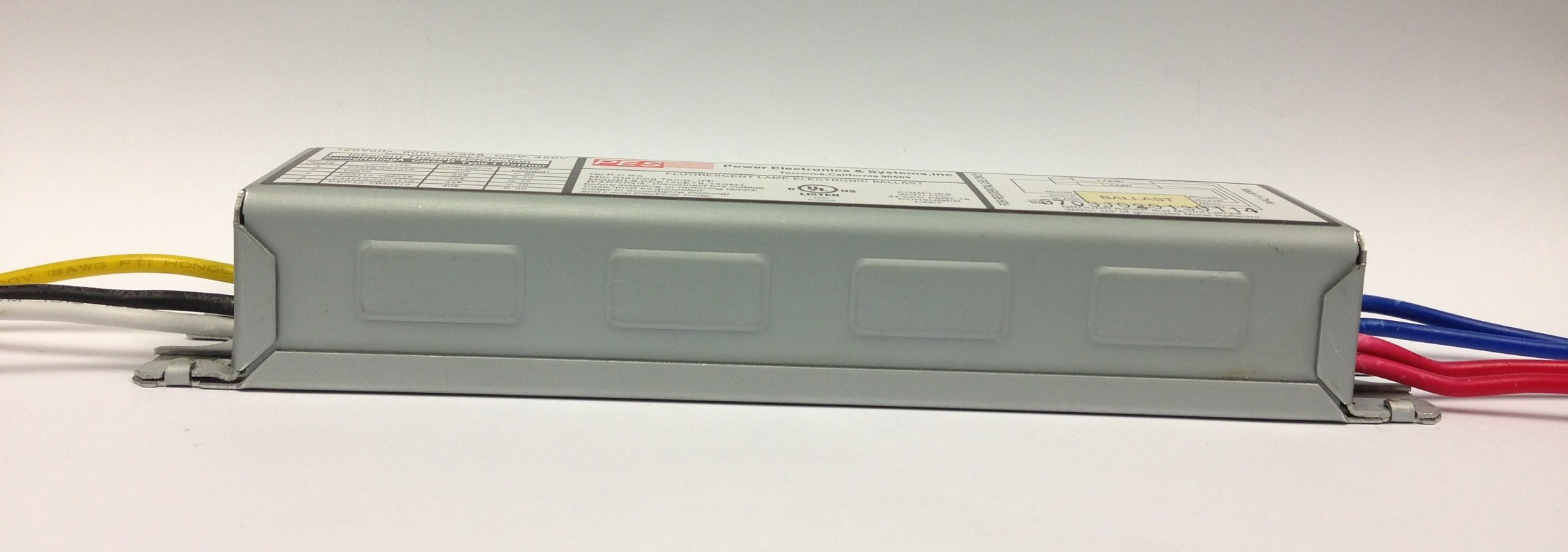 PES 2 Lamps Fluorescent Electronic Ballast, 120V, # PES120ET8-12SMT by Power Electronics & Systems (Image #2)