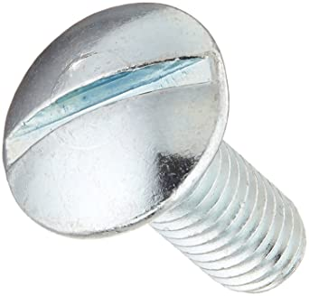 Fully Threaded 3 Length #2 Phillips Drive Meets ASME B18.6.3 Steel Truss Head Machine Screw #10-32 Thread Size Pack of 25 Zinc Plated Finish Imported