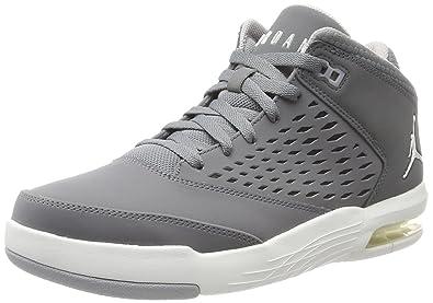 outlet store b1159 08be8 Nike Herren Jordan Flight Origin 4 Basketballschuhe Grau (Cool Summit White Wolf  Grey)