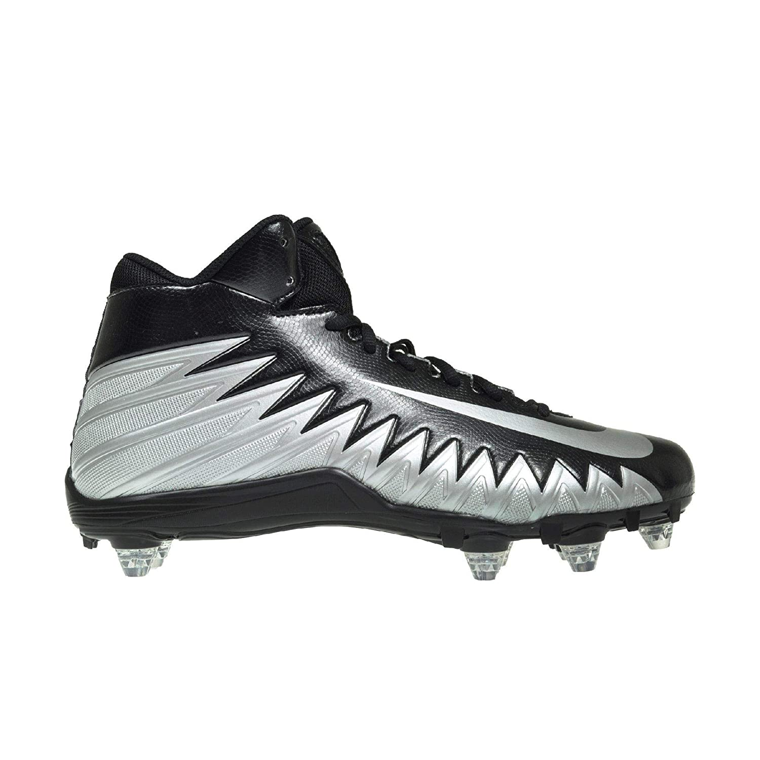 7df596625 Amazon.com  NIKE Men s Alpha Menace Varsity Mid D Football Cleats ...