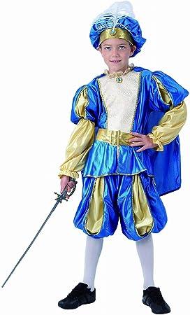 Disfraz Príncipe medieval infantil T. 10-12: Amazon.es: Juguetes y ...