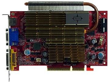 512MB MSI NX7600GT-TD512Z VGA + DVI + SV AGP-tarjeta gráfica ...
