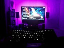 Amazon Logitech Illuminated Living Room Wireless